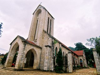 Sapa Stone Church (B, L, D)