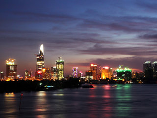 Hanoi  – Ho Chi Minh known as Saigon (B)